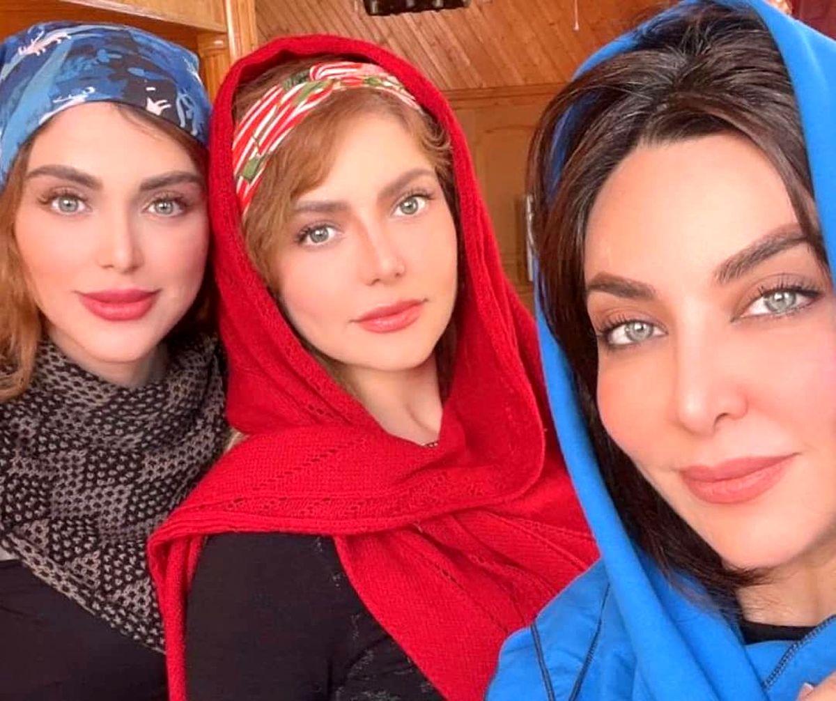 فقیه سلطانی و خواهرانش با چهره ای جذاب و زیبا+عکس
