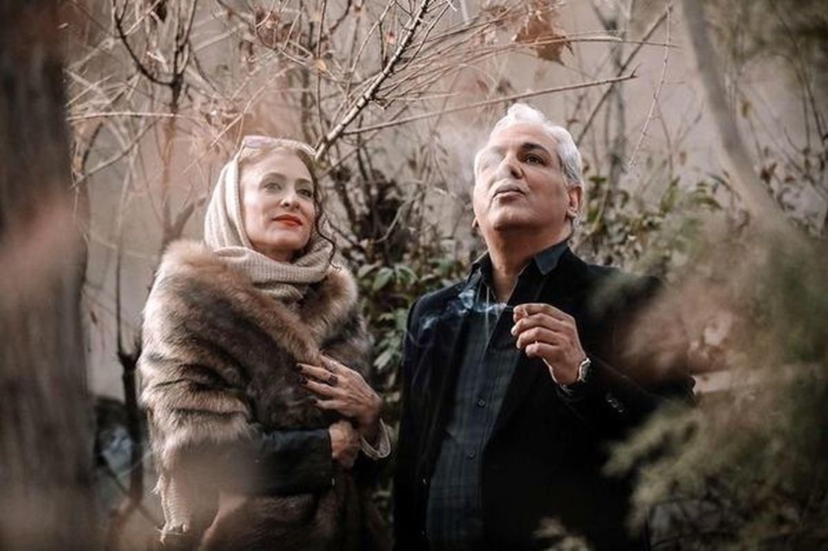 سیگار کشیدن مهران مدیری در لواسان +عکس