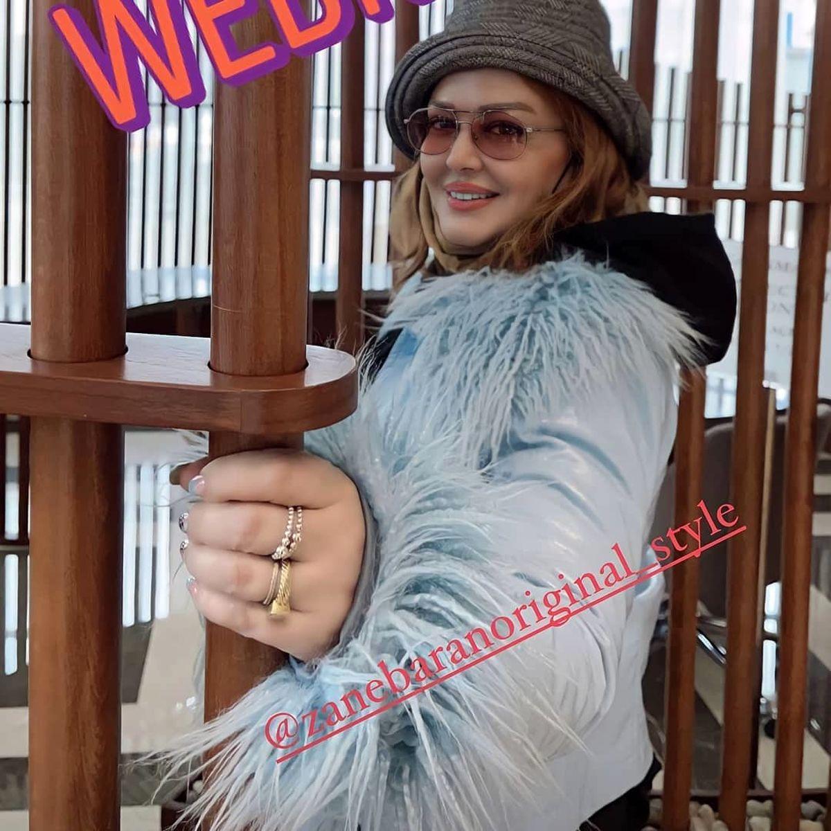 چهره جدید بهاره رهنما با لباس و جواهرات لاکچری/عکس