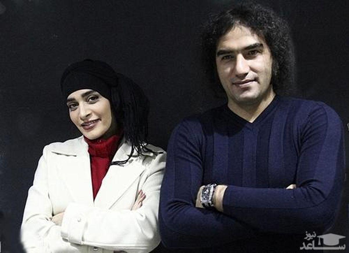 عروسی رضا یزدانی و اندیشه فولادوند + عکس