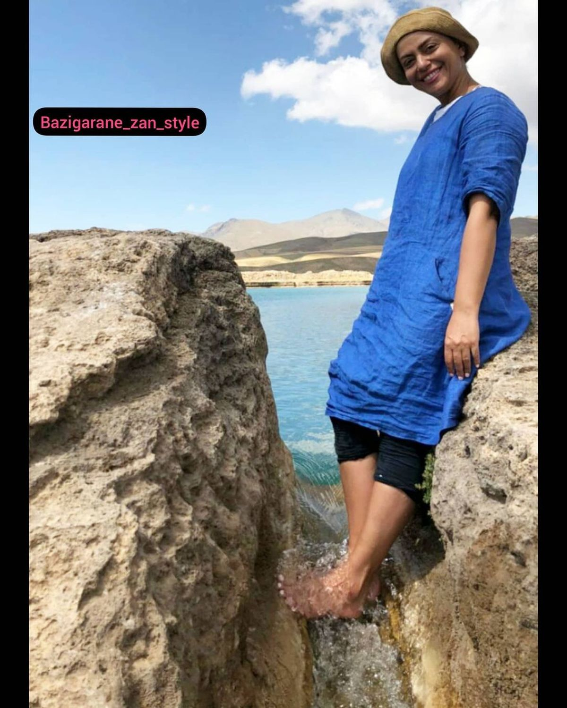شبنم فرشادجو با شلوارک + عکس