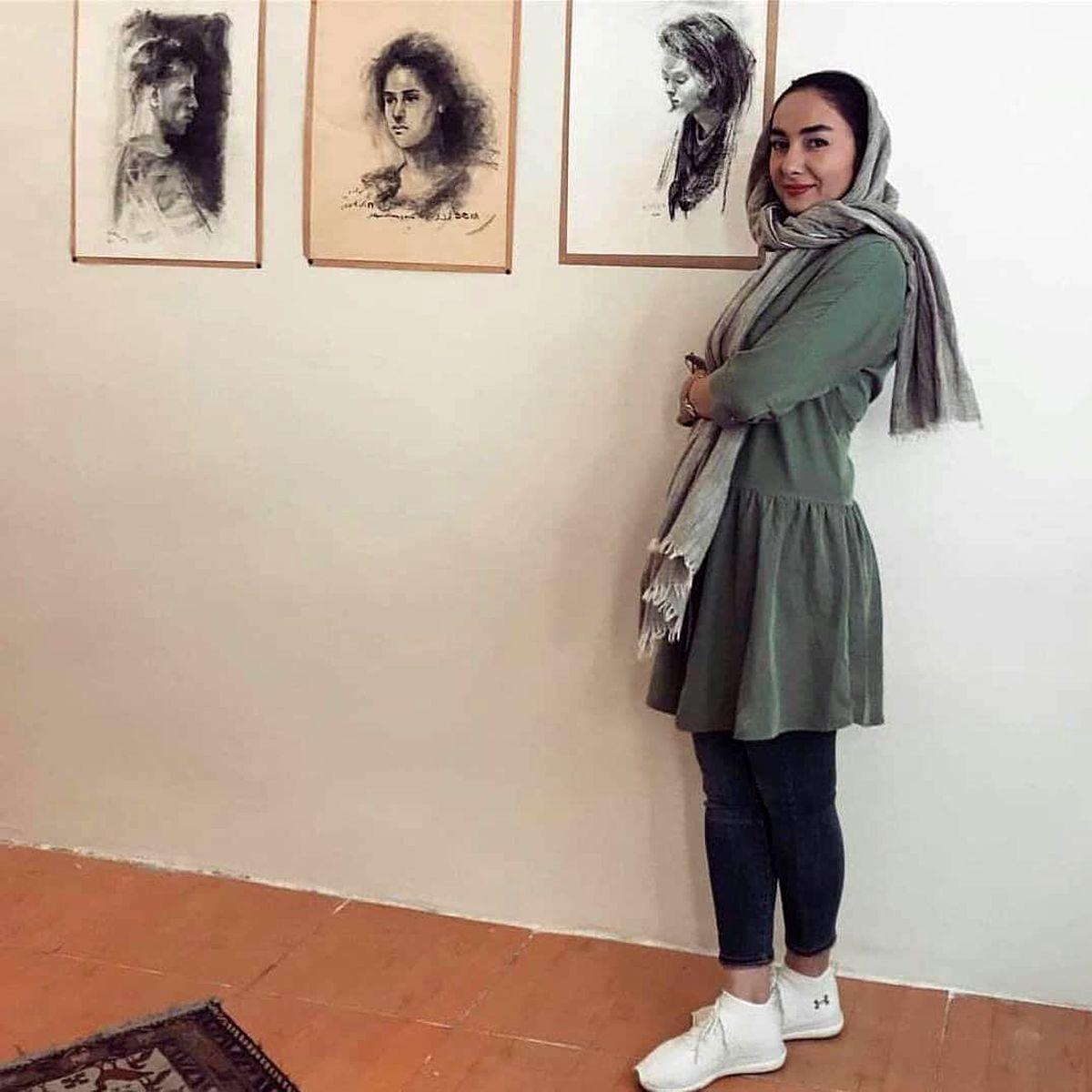 شلوار کوتاه و ناجور هانیه توسلی + عکس