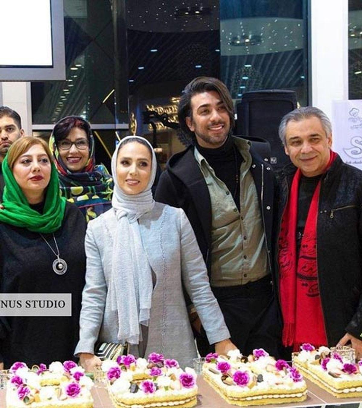 تولد لاکچری سوگل طهماسبی با حضور همسر جوان و خوشتیپش+عکس
