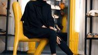 تیپ زرد سحر قریشی با شلوار کوتاه و پاهای برهنه +عکس