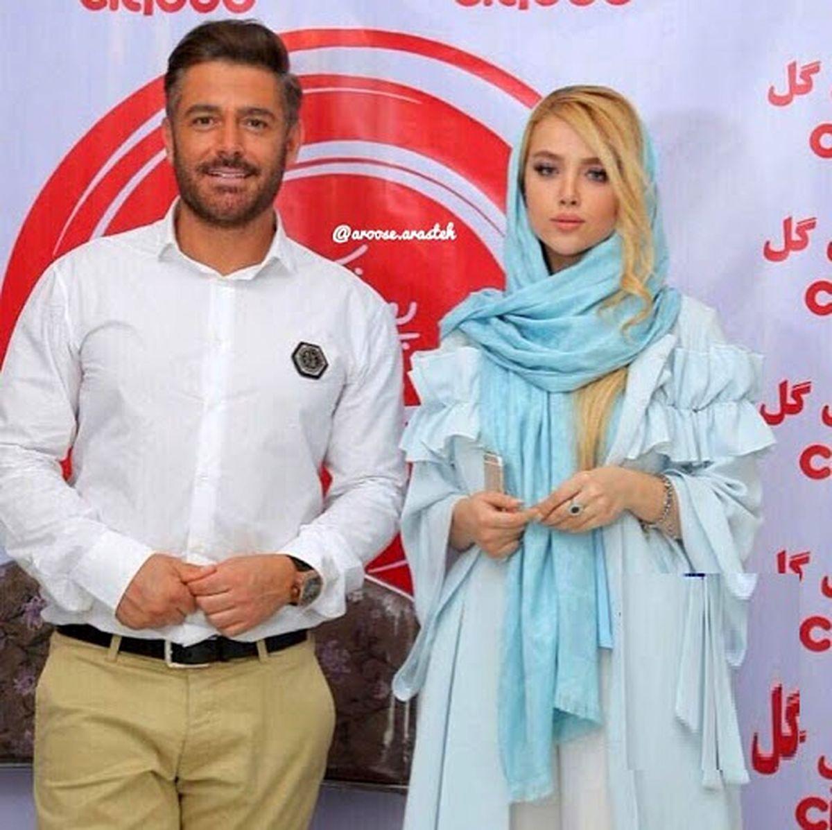همسر سرمربی استقلال در آغوش محمدرضا گلزار + عکس