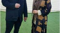 ساره بیات با لباس لختی+ عکس