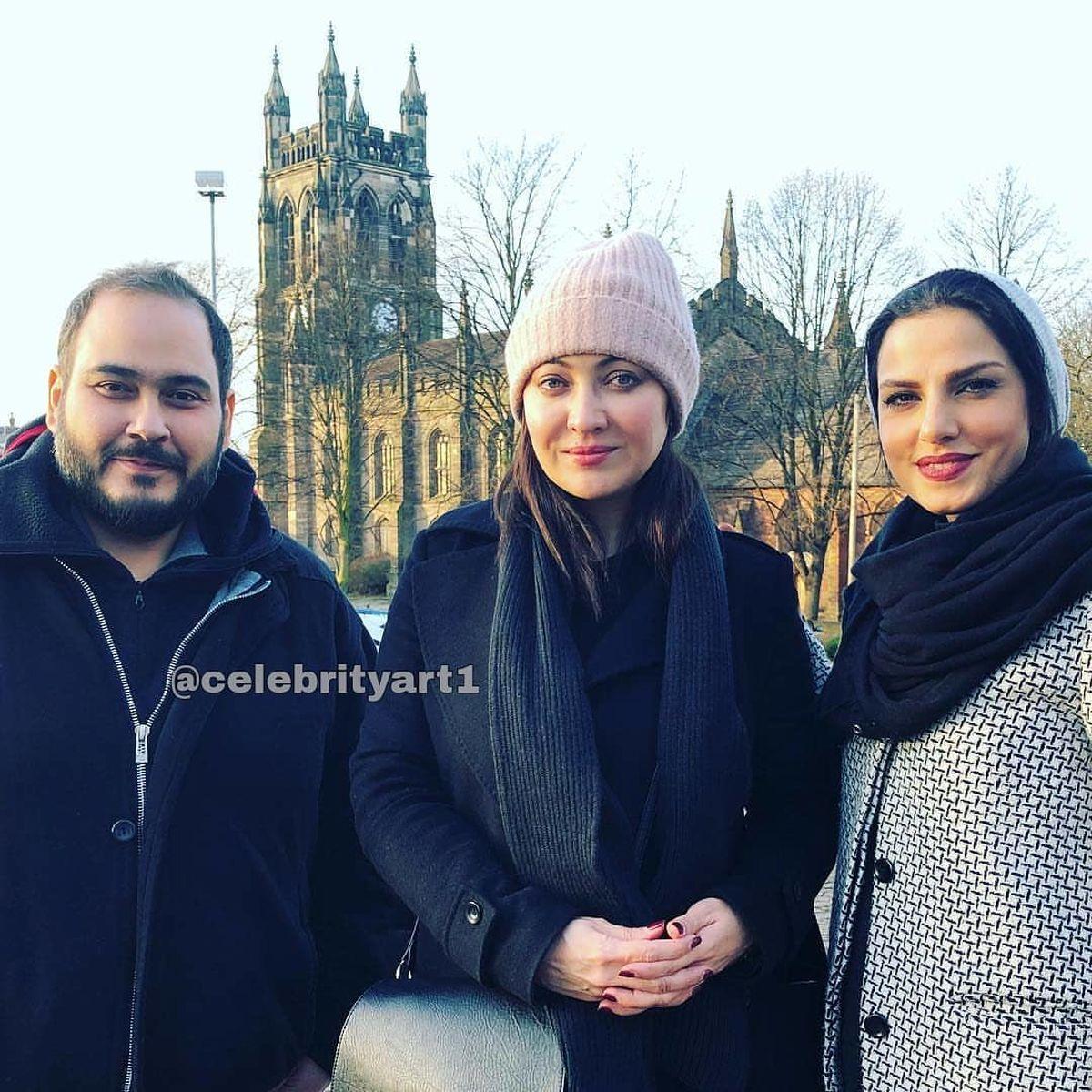 عکس بی حجاب نیکی کریمی در کنار رضا داودنژاد!