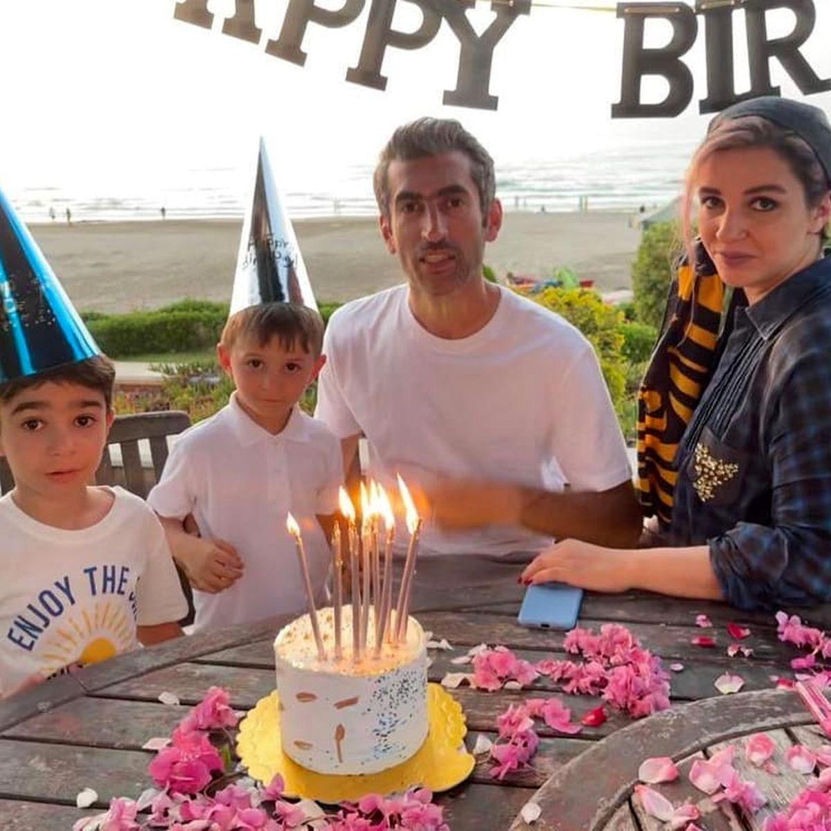 جشن تولد لاکچری مجتبی جباری کنار دریا + عکس