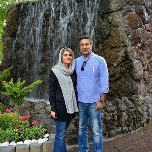همسر جوان و قد کوتاه حمیدرضا پگاه + عکس
