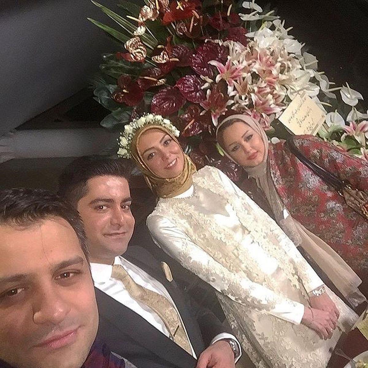هدیه همسر آزاده نامداری + عکس