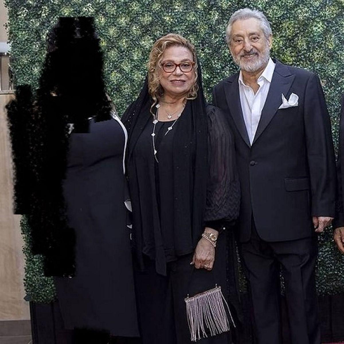 گوهر خیراندیش بدون حجاب در کنار خواننده لس آنجلسی + عکس