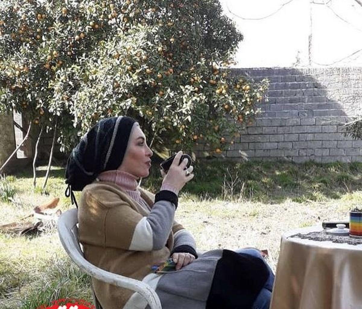 افسانه بایگان در ویلای لاکچری اش + عکس