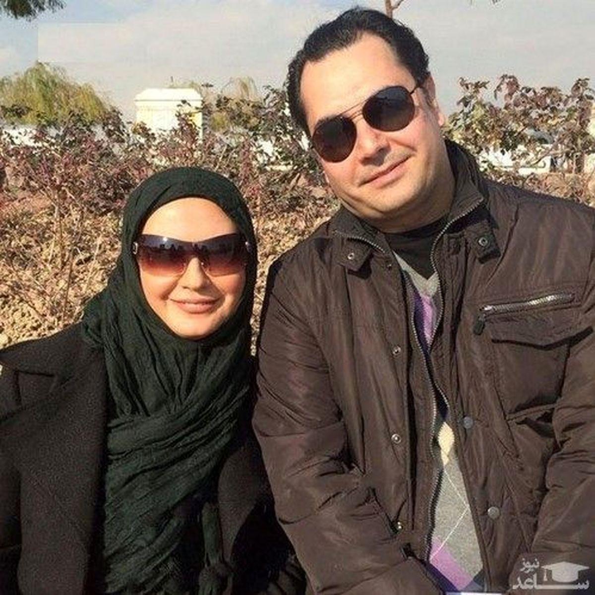 همسر جوان لعیا زنگنه + عکس
