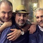 خوشگذرانی مهران مدیری با رضا عطاران و علی اوجی +عکس