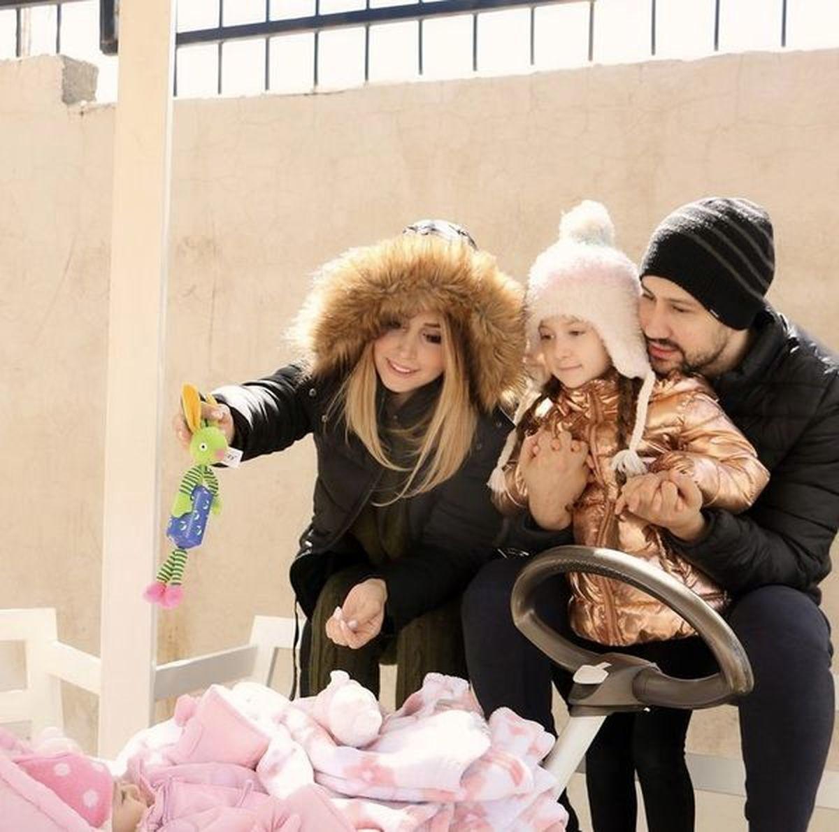 ادامه خوشگذرانی های شاهرخ استخری و همسرش در بلژیک/عکس