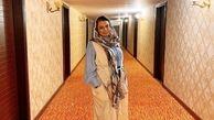 پاهای لاک زده صبا راد در هتلی لاکچری + عکس