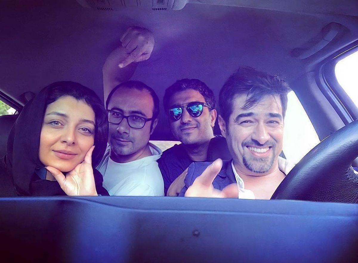 خوشگذرانی شهاب حسینی با ساره بیات + عکس
