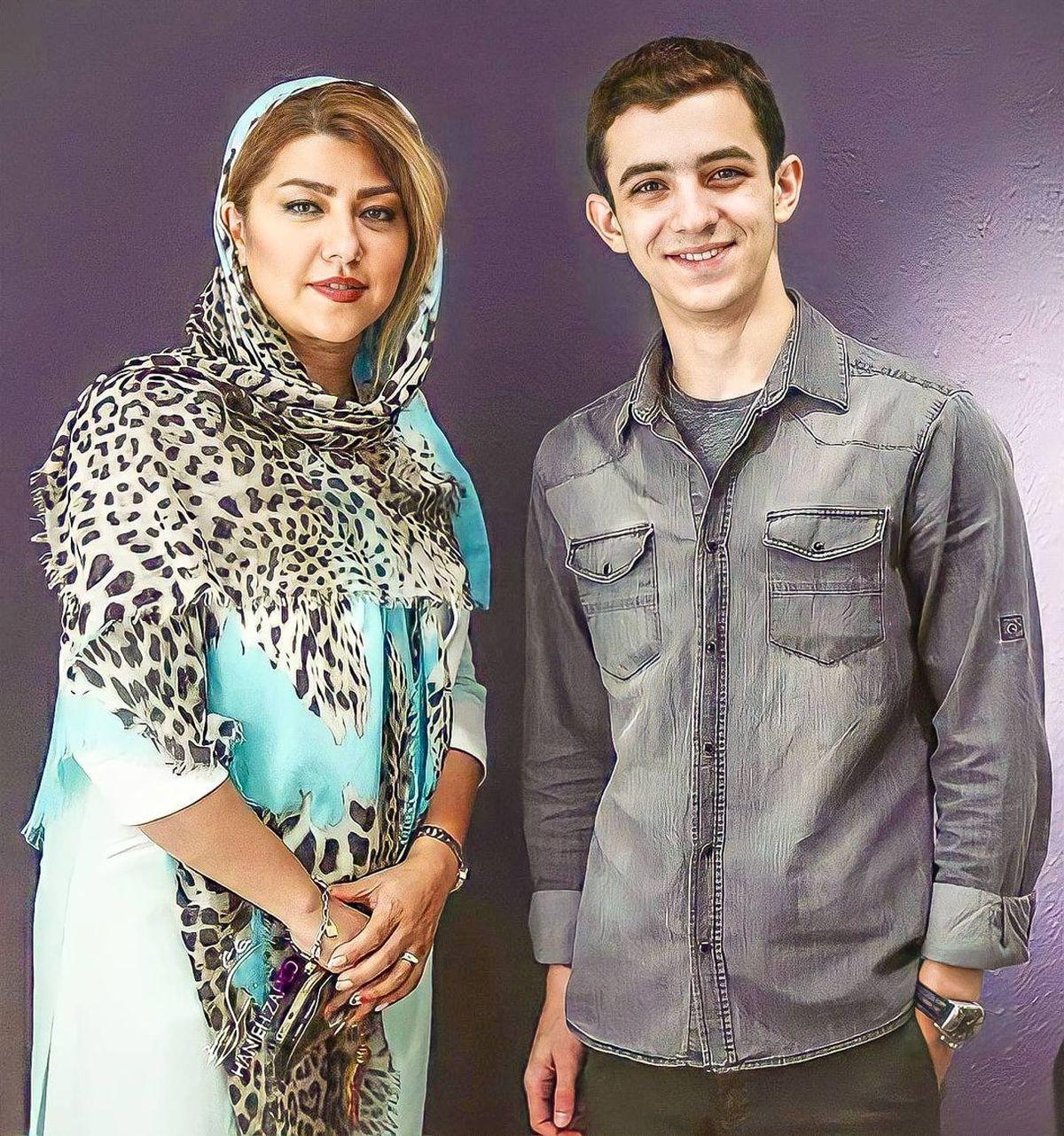همسر شهاب حسینی موقع طلاق +عکس