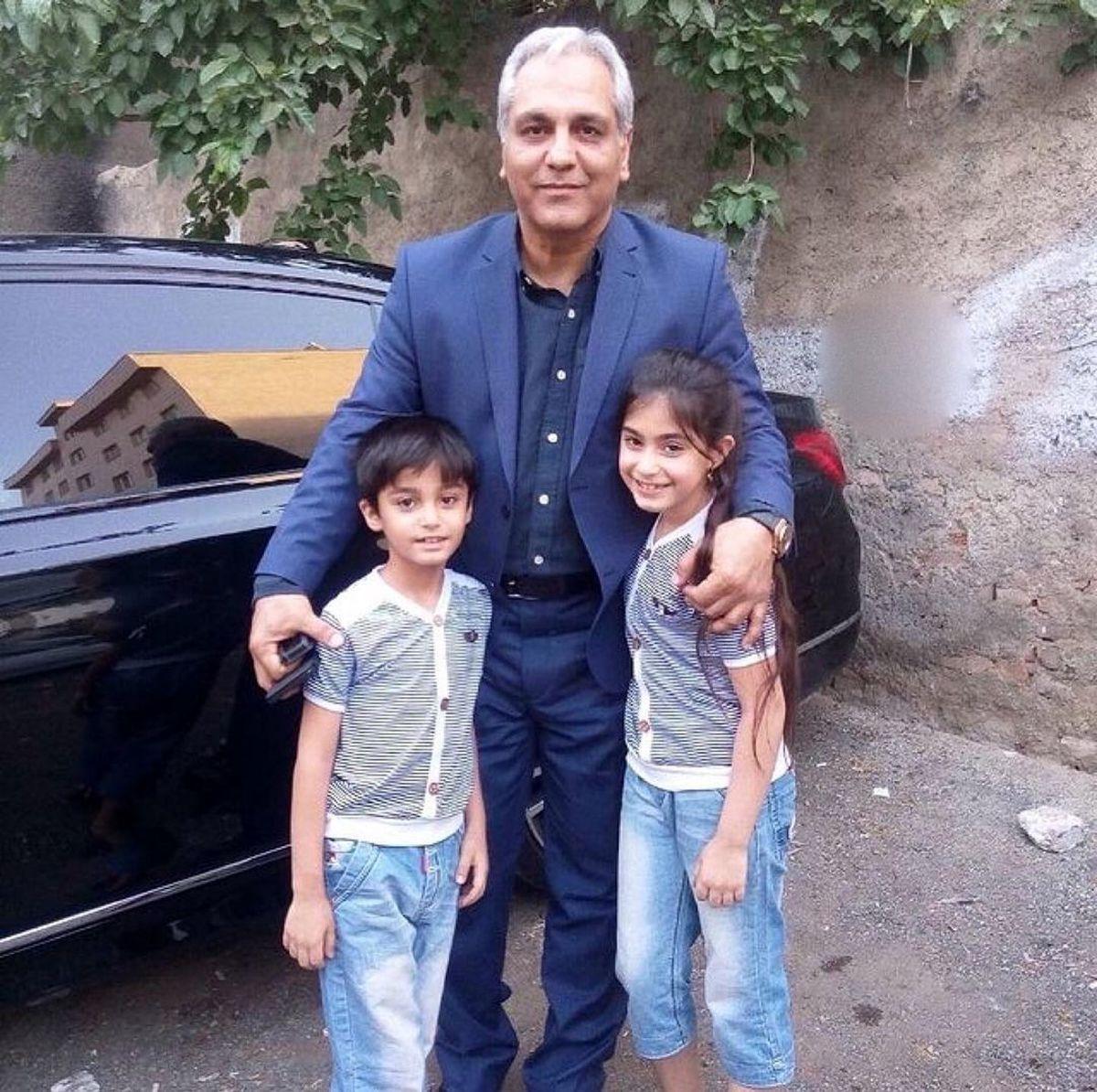 مهران مدیری و همسرش کنار هم + عکس