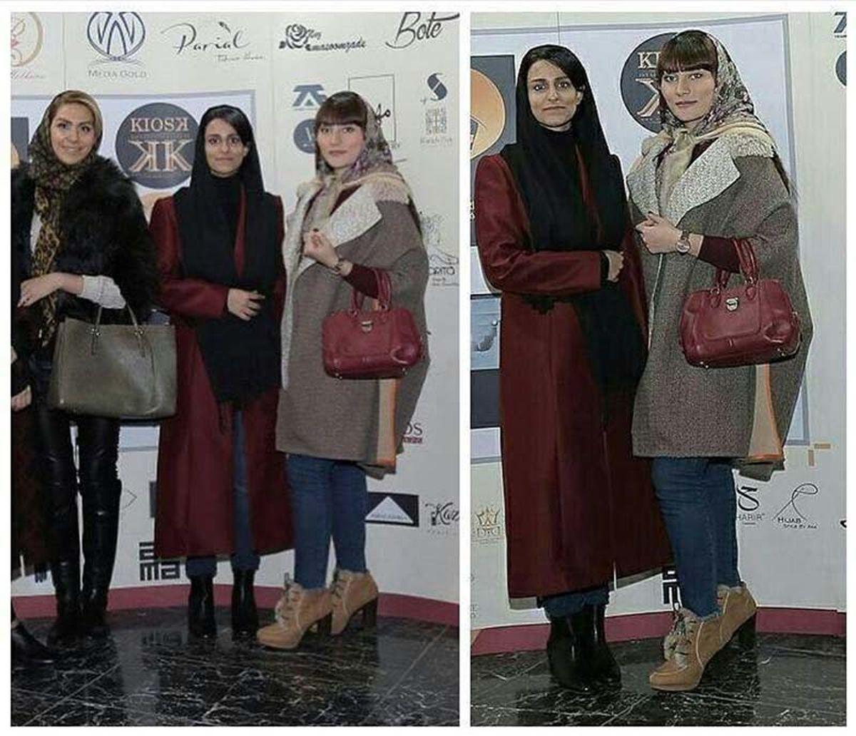 دو دختر بدحجاب کنار دختر مهران مدیری +عکس