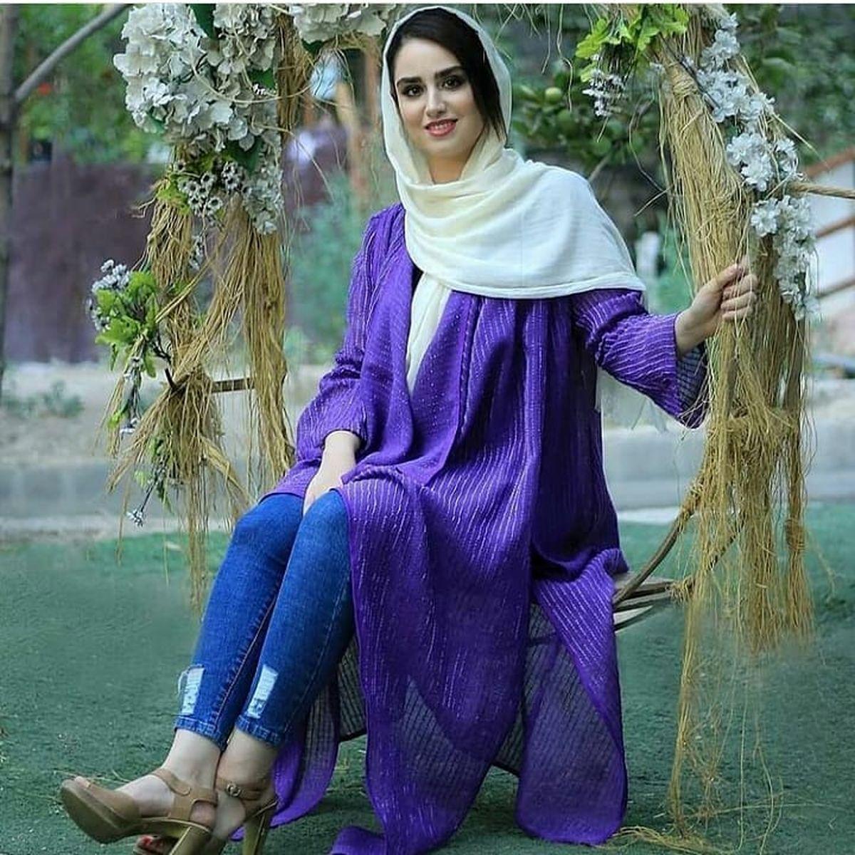 ساپورت پاره هانیه غلامی +عکس