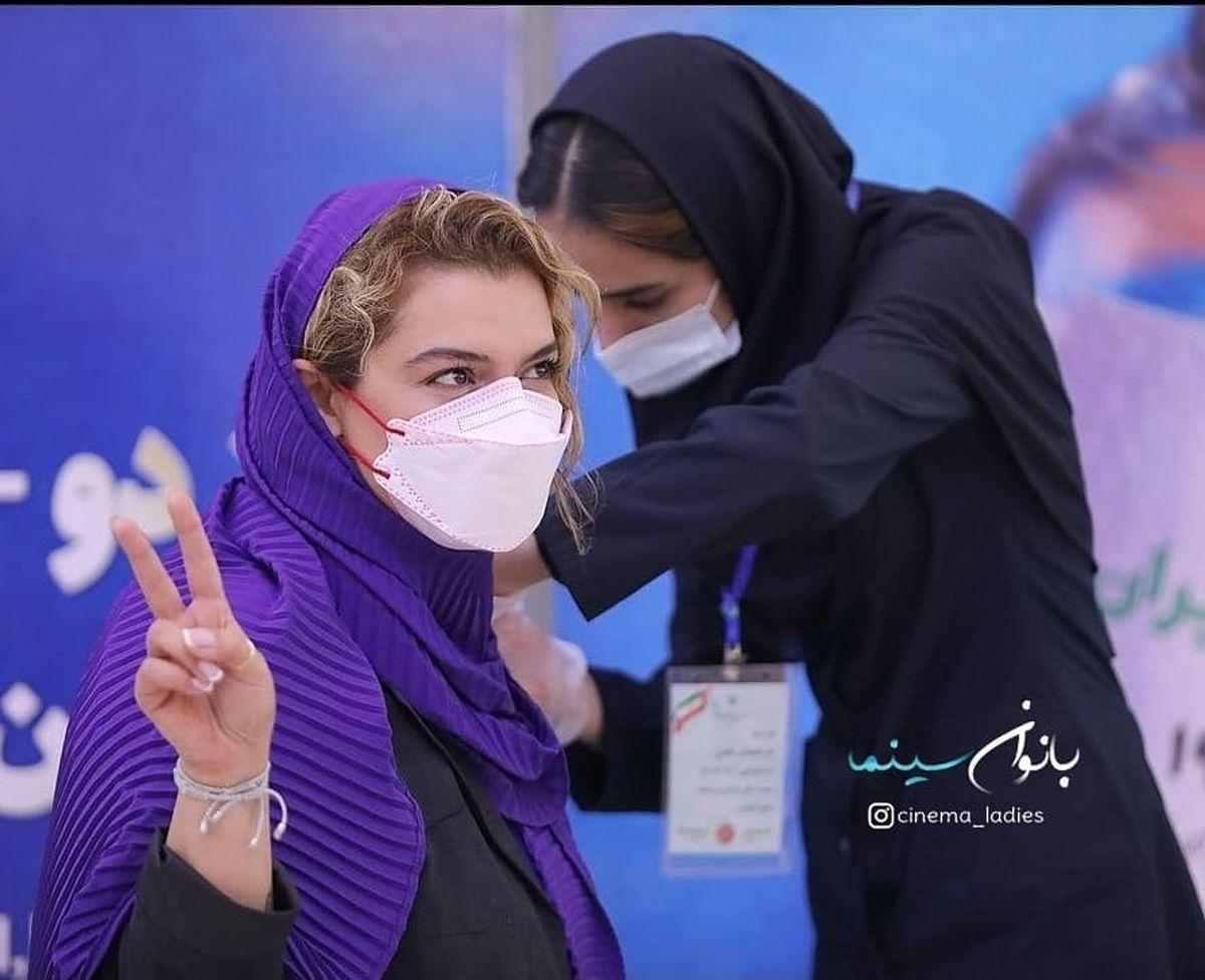 دنیا مدنی در حال تزریق واکسن کرونا +عکس