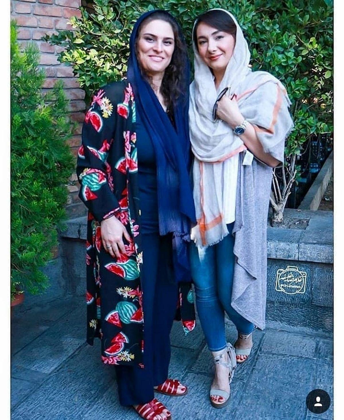ساپورت تنگ هانیه توسلی +عکس