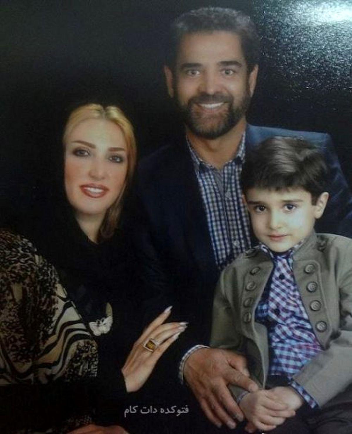 همسر اول و دوم فیروز کریمی + عکس