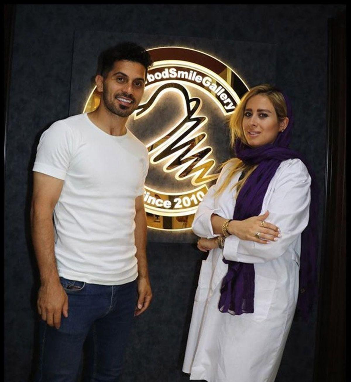 ازدواج امید عالیشاه با خانم دکتر جوان + عکس