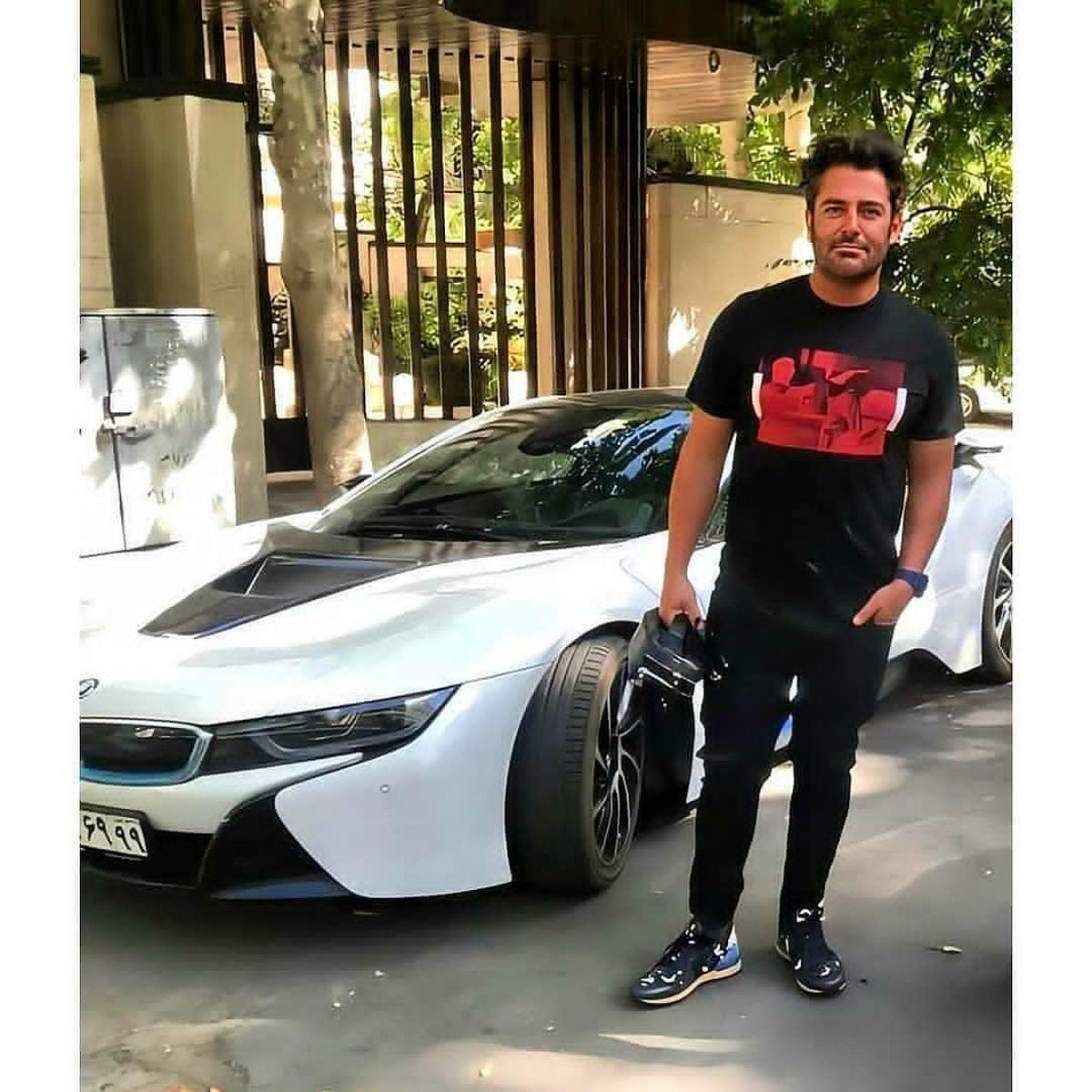 خودروی لاکچری محمدرضا گلزار + عکس