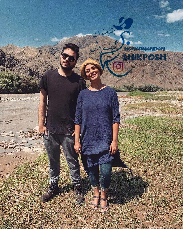 تیپ شبنم فرشادجو در سفر به ارمنستان برای تزریق واکسن/ عکس